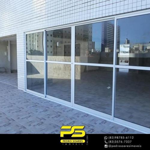 Apartamento Com 3 Dormitórios À Venda, 86 M² Por R$ 479.900 - Jardim Oceania - João Pessoa/pb - Ap3856