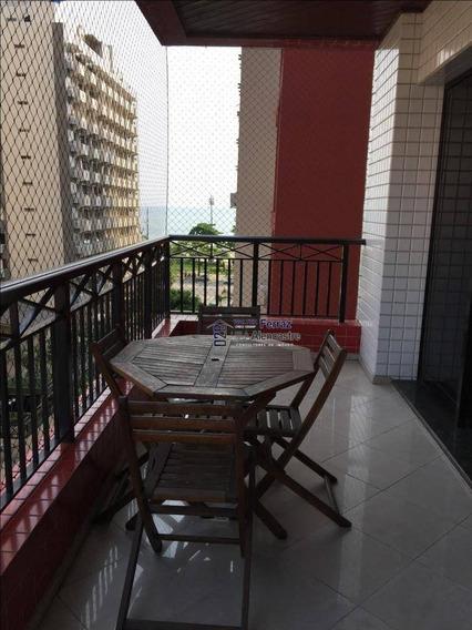 Apartamento Para Alugar, 200 M² Por R$ 7.500,00/mês - Aparecida - Santos/sp - Ap0218