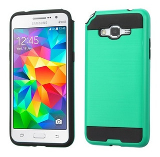 Samsung Galaxy Grand Prime-prime Plus Funda Brush Verde