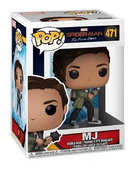 Funko Pop 471 Spiderman M J - Marvel