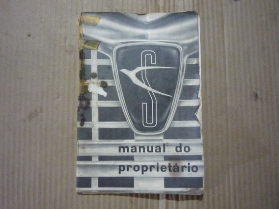 Manual Do Proprietario Simca 1966