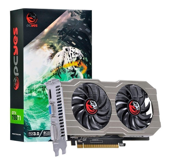 Placa De Vídeo Pc Geforce Gtx 750 Ti 2g Gddr5 Gamer Oferta