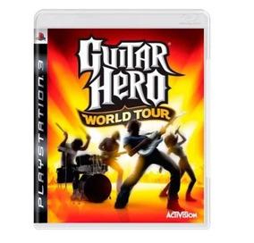 Guitar Hero World Tour - Ps3 - Usado Capa Refeita