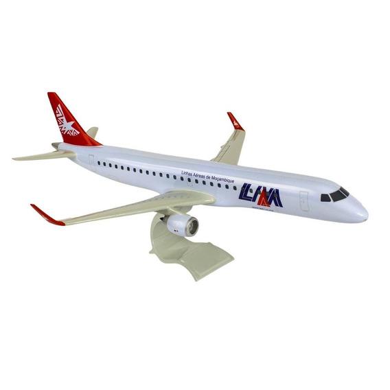 Maquete Embraer 190 Linhas Aéreas De Moçambique