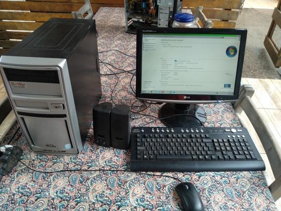 Computador Completo Celeron 250 Gb