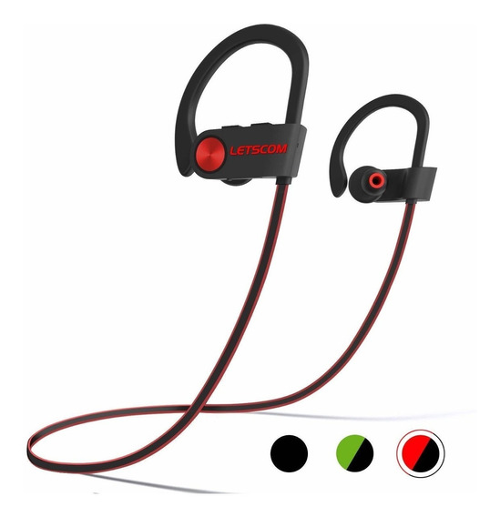 Letscom Bluetooth Headphones Ipx7 Waterproof, Wireless Spor