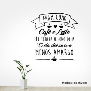 Adesivo De Parede Decorativo Cozinha - Café E Leite