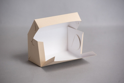 Imagen 1 de 2 de Caja 1 Pieza 18x9x10 Cm (x50 U.) Porciones - 046 Bauletto