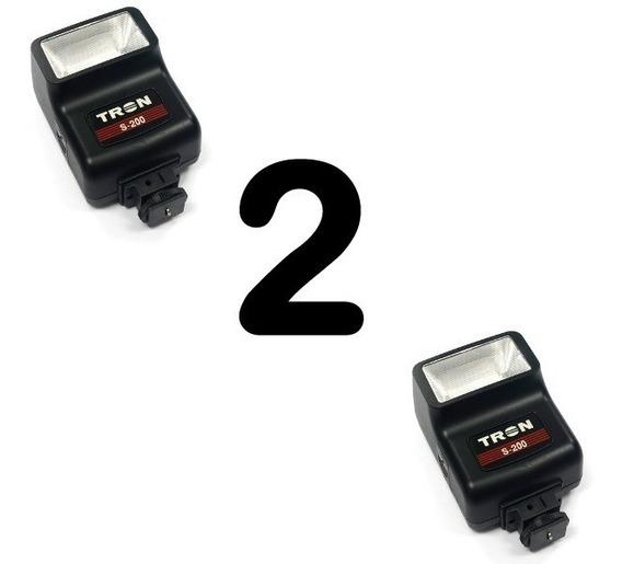 Flash Para Câmera - Tron S200- Kit Com 2