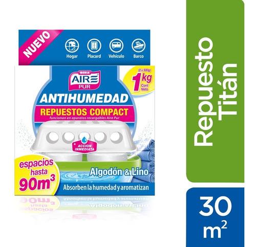 Aire Pur® Antihumedad Repuesto Titan - Ideal Hasta 30m2