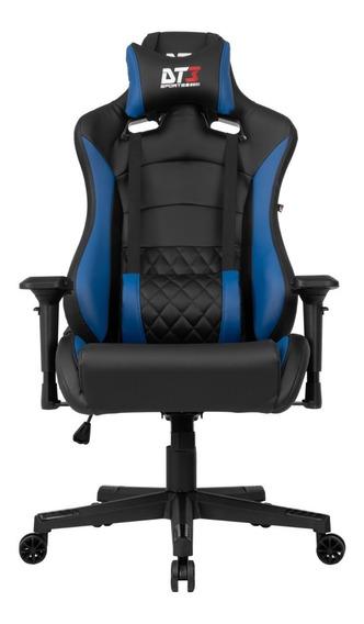 Cadeira Gamer Dt3 Sports Ravena Black Blue 11538-8