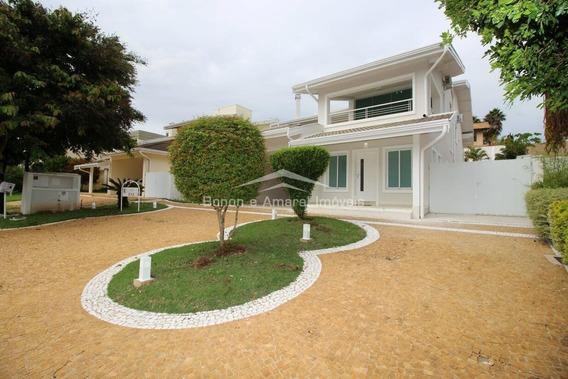 Casa Para Aluguel Em Loteamento Alphaville Campinas - Ca006765