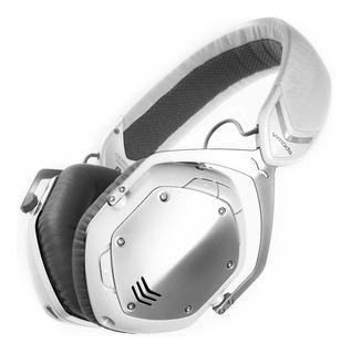 Auriculares Inalambricos V-moda Crossfade, Blanco-plateado