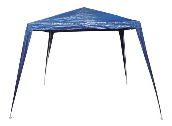 Tenda Camping Gazebo 3x3 Base Área Desmontável Lona