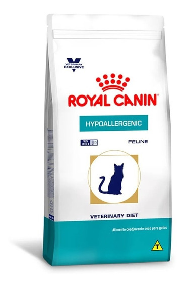 Ração Royal Canin Veterinary Hypoallergenic Gatos 1,5kg