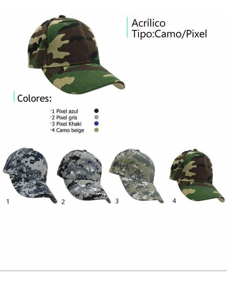 15 Gorras Camuflageadas Special Ops