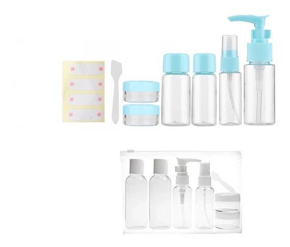 6 Envases Plásticos Dispenser Jabon Y Alcohol En Gel Higiene