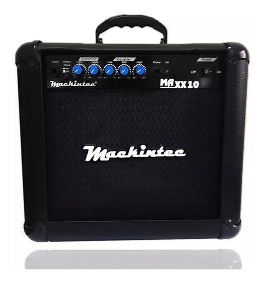 Cubo Amplificador Guitarra Maxx15 Mackintec Preto