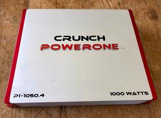Planta Amplificador Crunch Powerone P1-1050.4 1000 Watts