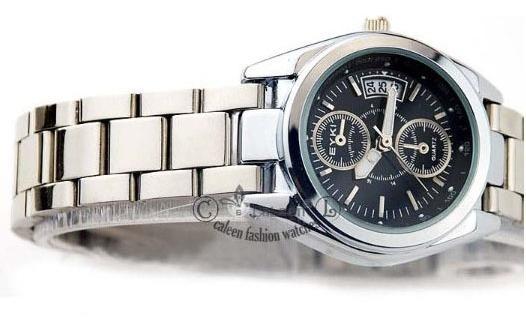 Relógio Feminino De Luxo, Caixa Em Aço Inoxidavel