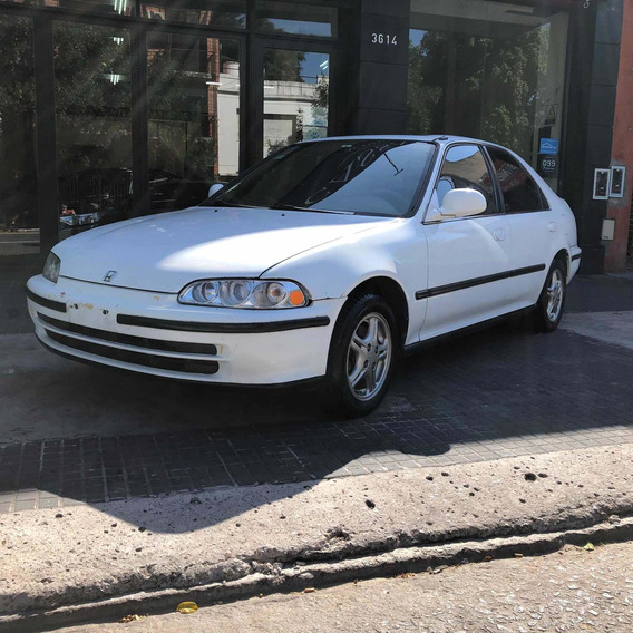 Honda Civic Ex 1.6 1996 Blanco Cassano Automobili