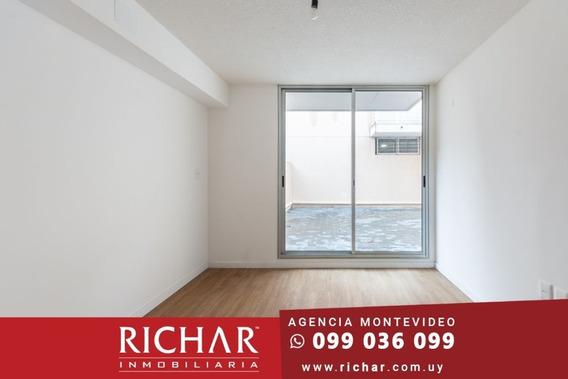 Apartamento Arroyo Seco Alquiler 1 Dormitorio Patio