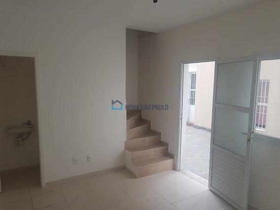 Sobrado Em Condomínio Vila Império, 2 Dormitórios, Novo, Pronto, 1 Vaga Cob, A 400m Da Av. Cupecê - Bi27202