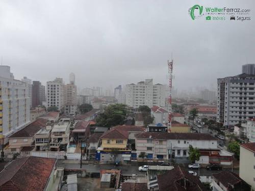 Imagem 1 de 15 de Campo Grande - Santos. - Apartamento 2 Dormitórios - Vista Livre - 2637