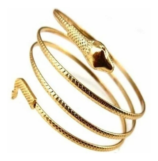Bracelete Cobra Fina Fashion - A Pronta Entrega