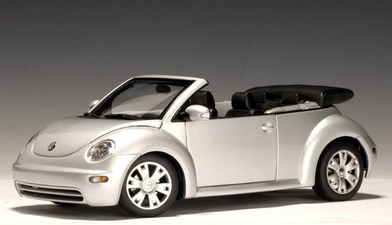 Vw New Beetle 1:43 Auto-art Carros Miniaturas Réplicas Fusca