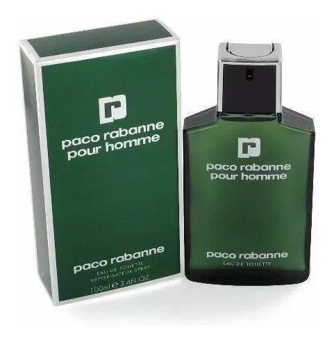 Paco Rabanne Pour Homme 100ml Verde Masculino Original