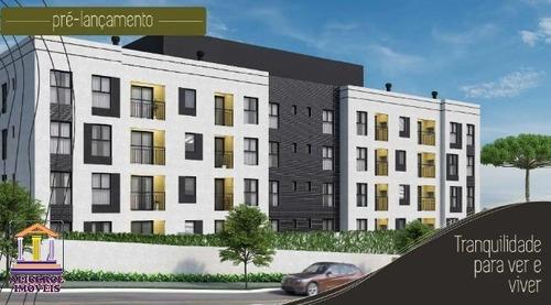 Excelente Apartamento 3 Dormitórios No Centro De Araucária. - A-745 - 33718332