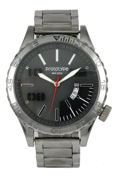 Reloj Prototype Hombre Stl-213-01 Envio Gratis