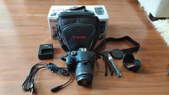 Camera Canon T5, Usei Apenas 5x Estado De Nova Sem Avarias.