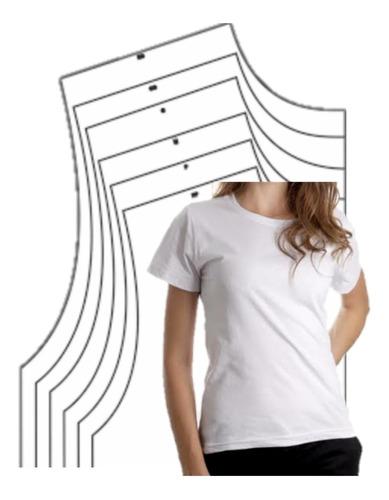 9 Moldes Camisa Baby Look Ou Básica, Modelagem, Gabarito
