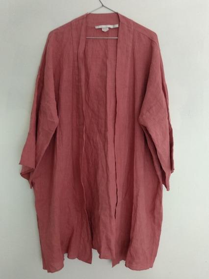 Kimono Zara 100% Lino Comprado En España