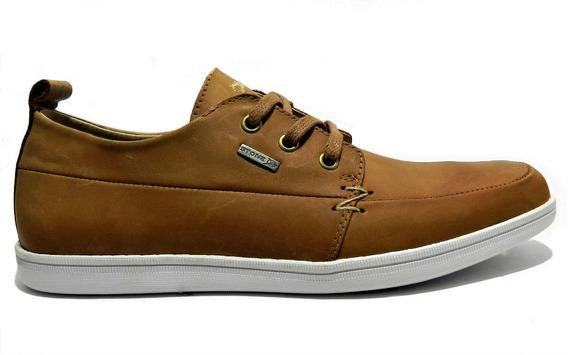Zapatos Stone De Cuero Con Cordones 1454
