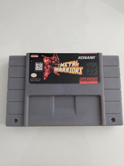Fita Metal Warriors Super Nintendo