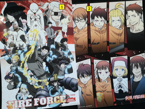 Posters A3 29x42cm Anime Fire Force / Enen No Shouboutai #1