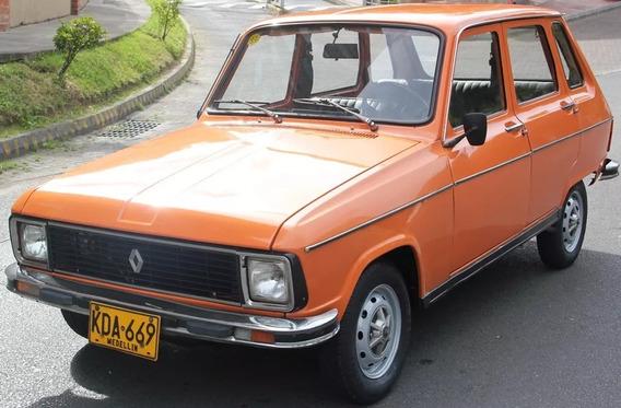 Renault R6 1300 Tl (turismo De Lujo)