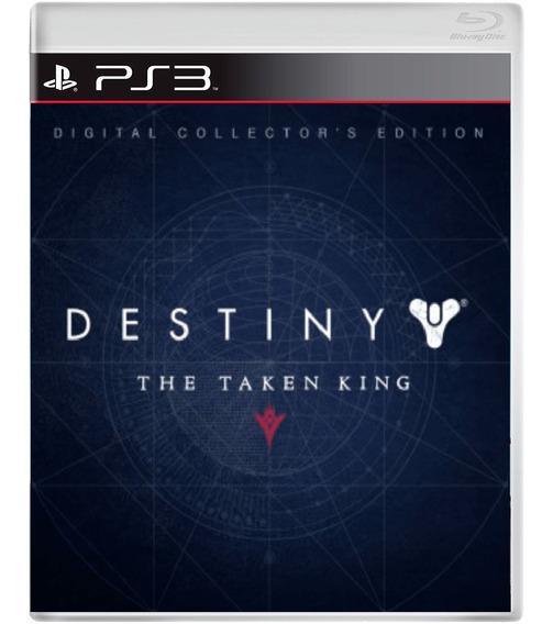 Destiny The Taken King - Ed. De Colecionador - Ps3 - Digital