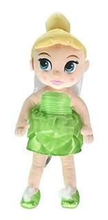 Coleccion Disney Animators .tinker Bell Plush Doll - Pequeñ