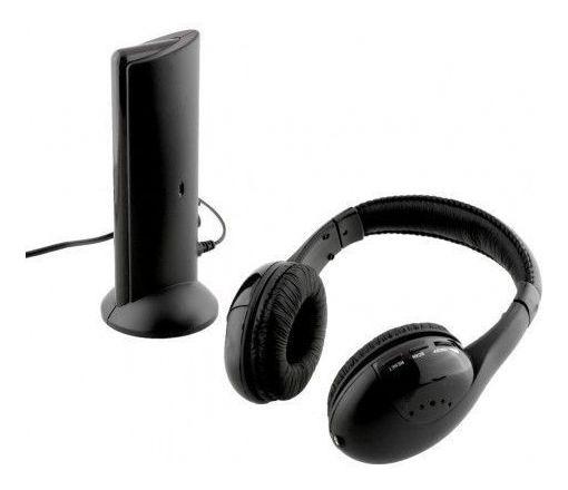 Fone De Ouvido Sem Fio 5 Em 1 Headset Wireless Knup Kp-323