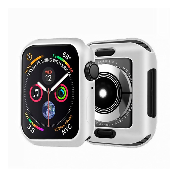 Case Bumper Para Apple Watch Borracha 38mm 40mm 42mm 44mm