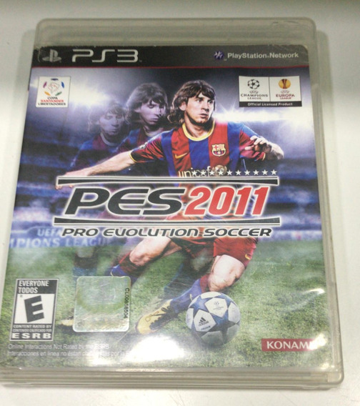 Pro Evolution Soccer 2011 Ps3 Pes 11 Semi Novo