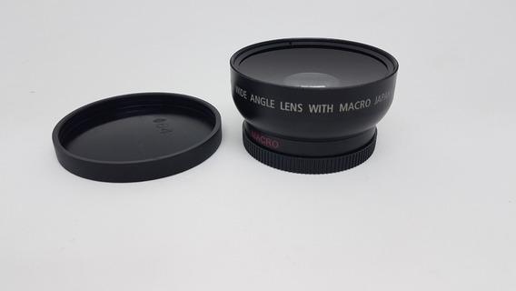 0.45x 52mm Wide Angle Macro Combinação Lente Grande-angula
