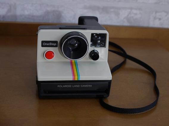 Câmera Fotográfica Polaroid Land One Step Sx-70