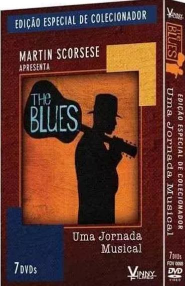 Box The Blues - Uma Jornada Musical - Martin Scorsese 7 Dvds