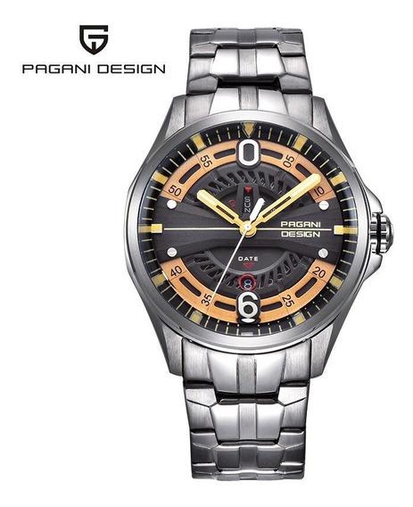 Relógio - Pagani - Original - 47,8mm - Aço Inox - Em Estoque