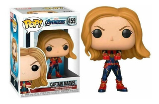 Funko Pop Avengers Captain Marvel 459 Nuevo Original Stock